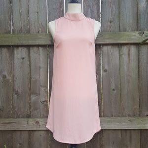 H&M Pale Pink Flowy Sleeveless Dress Size 2